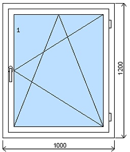Plastová okna cena za m2
