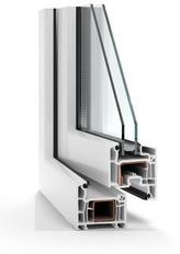 Plastová okna Oknostyl PREMIUM plus - průřez